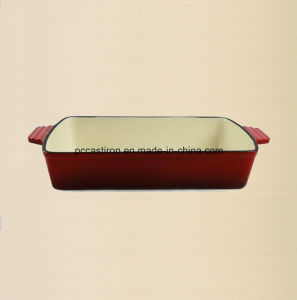 Enamel Cast Iron Baking Pan Manufacturer From China pictures & photos