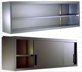 S/Steel Good Quality Wall Cupboard (HK-CB-900WO) pictures & photos
