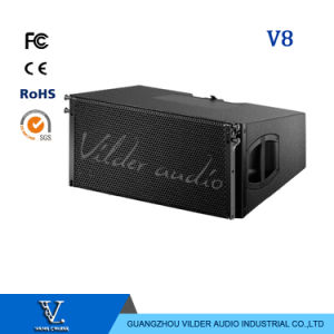 V8 New Arrival Audio Double 10′′ Woofer Line Array Speaker pictures & photos