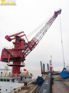 Floating Deck Marine Port Crane pictures & photos