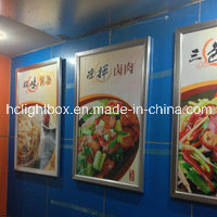 Aluminum Frame LED Slim Light Box for Menu Board pictures & photos