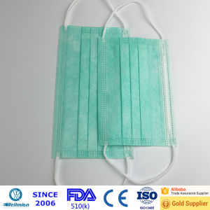 Ce and FDA 510k Approved Bacteria Surgical Face Masks pictures & photos