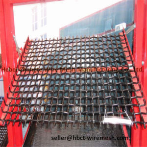 High Carbon Stainless Steel Crimped Wire Mesh pictures & photos