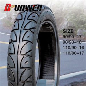 Motorcycle Tubeless Tires 90/90-17 90/90-18 110/90-16 110/80-17 pictures & photos