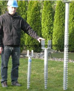 U Shape Hot DIP Galvanized Ground Screw Anchor pictures & photos