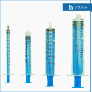 Sterile Disposable Syringe Three Parts with Needle pictures & photos