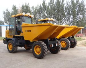 Factory Supply 5tons Construction Site Dumper for Export pictures & photos