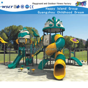 Children Outdoor Playground Plastic Slide Play Equipment HD-Zba201 pictures & photos