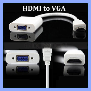 1080P HDMI to VGA Adapter Converter Cable pictures & photos