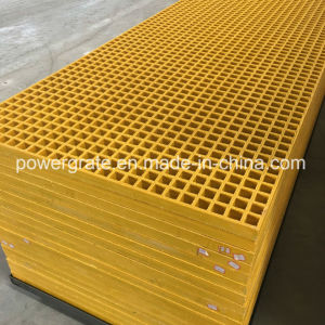 Powergrate Fiberglass FRP Grating with Gritted Surface pictures & photos