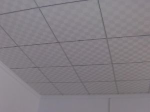 China Pvc Vinyl Laminated Gypsum Board Ceiling Tile Pvc