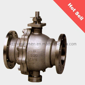 Carbon Steel Fixed Type Ball Valve (150LB, 300LB, 400LB) pictures & photos