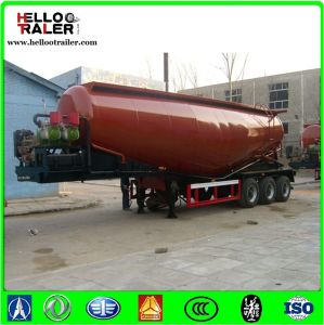 White Color High Quality Tri Axles 40cbm Cement Bulker pictures & photos