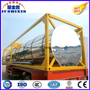 ISO Csc Fuel Oil Storage Carrier Semi Trailer Diesel Tank Container pictures & photos