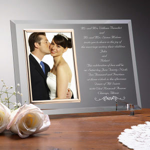 Wedding Invitation Personalized Frame for Weddding Gift pictures & photos