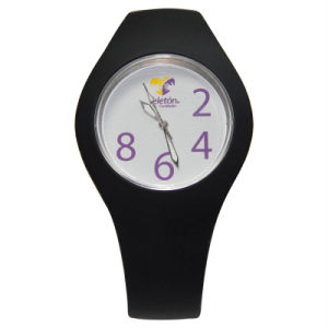 New Products Waterproof Fashion Silicone Watch Customized Logo