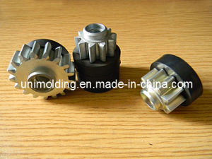 Custom Rubber Bonded to Metal Gear Parts/Transmission Gear/ pictures & photos
