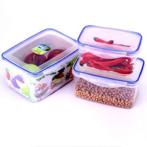 3PCS in a Set Fresh Keeping Crisper Refrigeration Storage Box Food Storage Container PP Storage BPA -Free pictures & photos