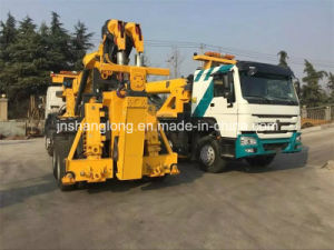 HOWO 8X4 40 Ton Heavy Recovery Road Tow Wrecker Truck pictures & photos