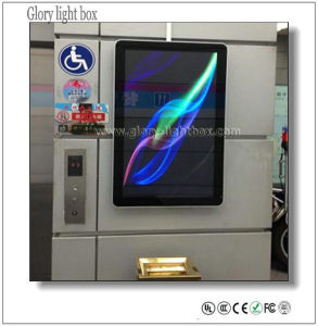 Adverting and Decoration LCD Screen Panel Elevator pictures & photos