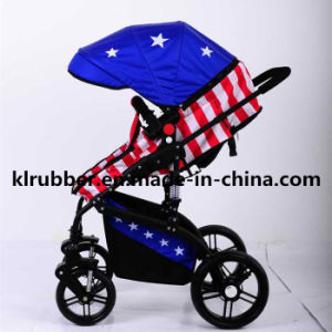 Top Quality High Landscape Aluminium Baby Trolley Baby Stroller pictures & photos