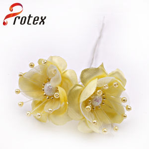 Beautiful Real Looking Yellow Raw Material for Artificial Flowers pictures & photos