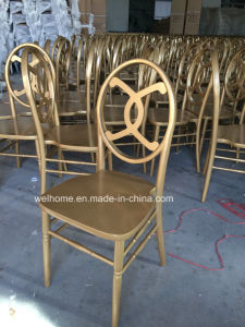 High Quality Wooden Channel Chair for Wedding/Party/Event pictures & photos