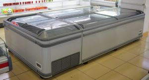 Deep Combined Island Freezer Used Supermarket Frozen Food Display pictures & photos