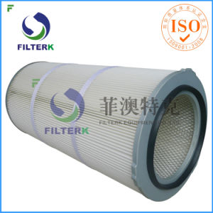 Plum-Shaped Cap Pleated Filter Cartridge Dust Collector pictures & photos