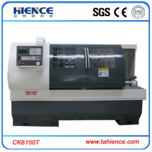 Low Cost Flat Bed CNC Machinery Lathe Price for Sale Ck6150t pictures & photos