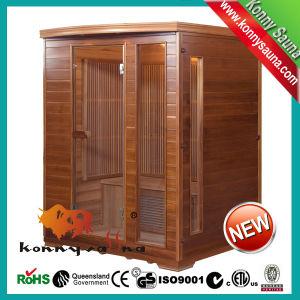 2014 Kl-3sdfk New Indoor Far Infrared Sauna Cabin