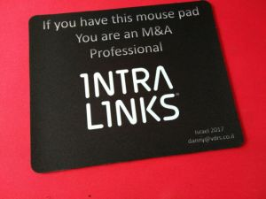 New Hot Cheap Mouse Pad with Printing Customer Company Design pictures & photos