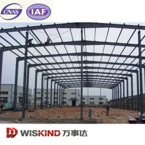 Cheap Light Steel Prefabricted Building Galvanized Steel Workshop pictures & photos