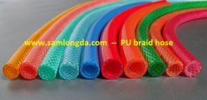 High Pressure PU Braid Reinforced Hose for Air pictures & photos