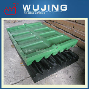 Wujing Wear Resistant Part Professional Design High Manganese Steel Cast Jaw Plates Supplier