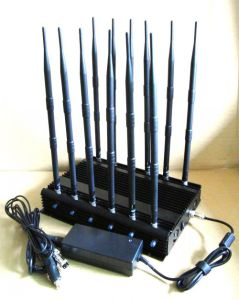 12bands Cellphone Jammer for All Cellphone, Remote Control, VHF/UHF Radio pictures & photos