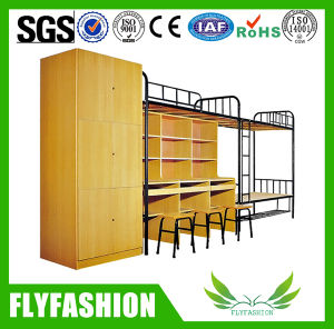 High Quality Metal Frame Bunk Bed for Three Persons (BD-13) pictures & photos