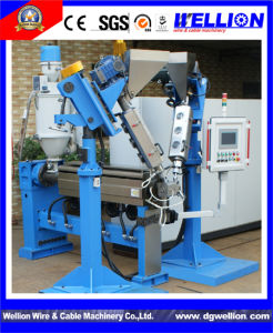 Teflon Cable Extrusion Line with PLC Touch Screen Controlled pictures & photos