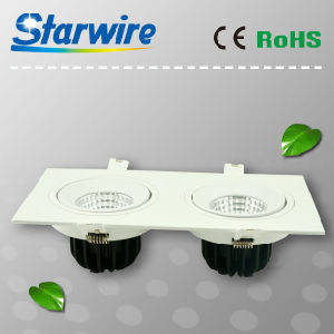 Cl24-B01 High Lumen Dimmable 24W COB LED Downlight pictures & photos