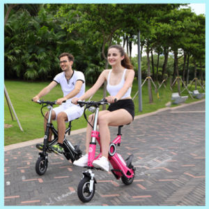 Lithium Battery Electric Pocket Bike Chainless Mini Folding Electric Bicycle pictures & photos