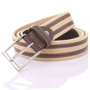 Full Grain Leather Belt Heads Heavy Canvas Man Belt (SR-13022m) pictures & photos