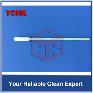 Short Handle Solvent Foam Cleaning Alcohol Swab For Printer Anti-static PU Foam Swab pictures & photos