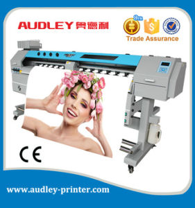 Audley 6 Color Digital Flex Banner Printing Machine Two X5 Head S3000-X5 pictures & photos