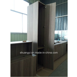 Modern Modular PVC Kitchen Cabinet Home Kitchen Cabinet Customized Kitchens pictures & photos