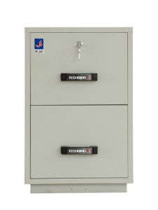 JIS 1 Hour Fireproof Metal Cabinet, Fire-Resistant Filing Cabinet (750FRD-2001) pictures & photos