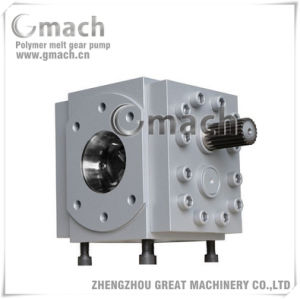 Hot Rubber Extruder Machinery Gear Melt Pump pictures & photos