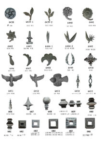 Cast Steel Spears and Ring Closing Cover pictures & photos