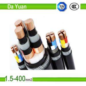 2core Yjv 2*120mm2 XLPE/PVC Copper Electric Cable pictures & photos