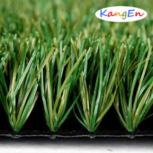 Bicolor Artificial Grass Factory Synthetic Turf Football Artificial Lawn pictures & photos