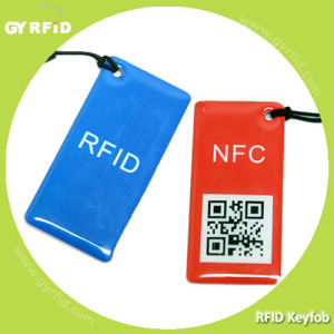 Kee F08 13.56MHz RFID Keytag for Acess Control (GYRFID) pictures & photos